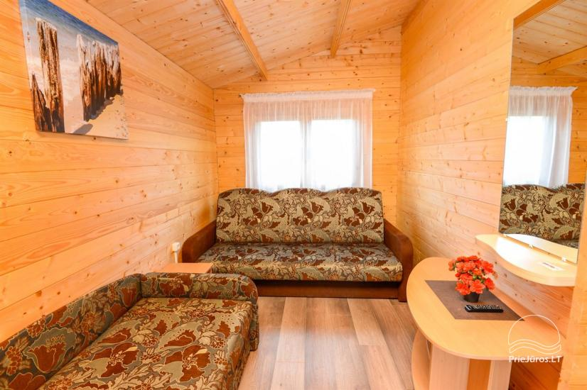 New holiday cottages with outdoor furniture for rent in Sventoji - 11