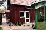 Mini cottage with amenities for rent in Juodkrante