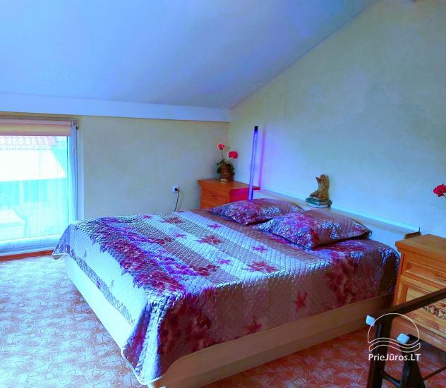 Namelis-kotedžas su terasa per 2 aukštus. 2 kambariai, 4 asmenims - 8