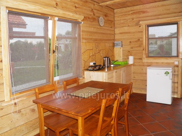 Two rooms apartment and rooms for rent in Sventoji, in wooden house - 7