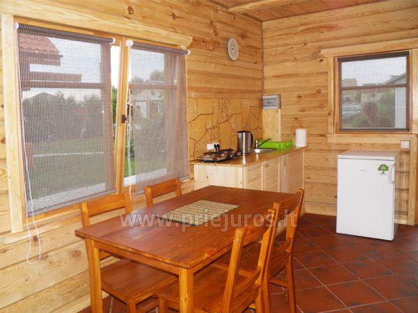 Zwei Zimmer Wohnung und Zimmer zu vermieten in Sventoji, in Holzhaus - 7