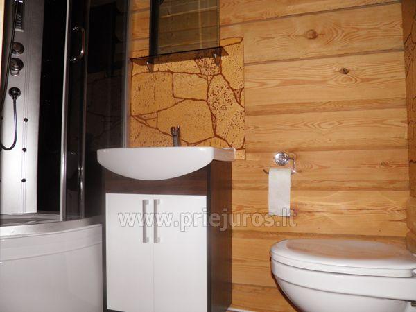 Zwei Zimmer Wohnung und Zimmer zu vermieten in Sventoji, in Holzhaus - 10