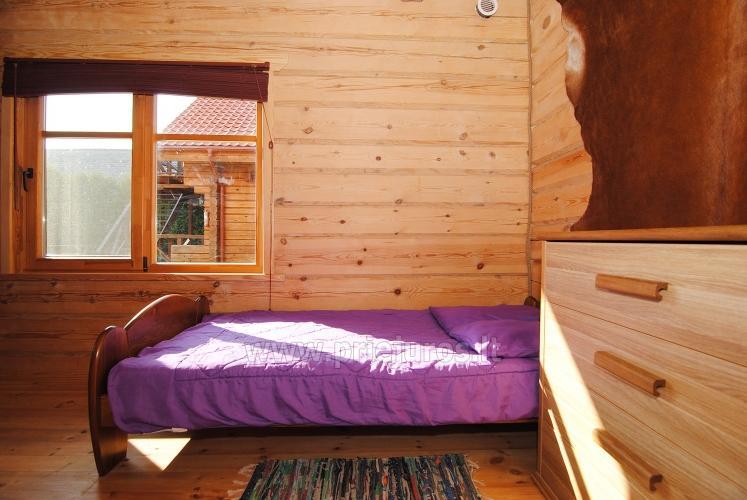 Zwei Zimmer Wohnung und Zimmer zu vermieten in Sventoji, in Holzhaus - 17