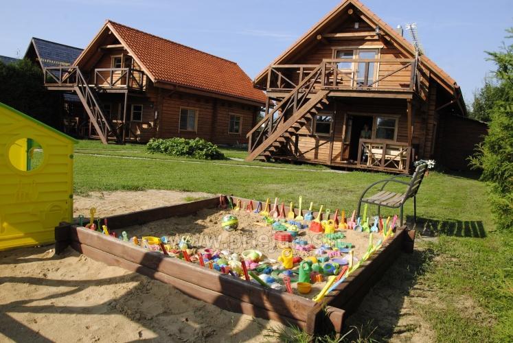 Zwei Zimmer Wohnung und Zimmer zu vermieten in Sventoji, in Holzhaus - 3