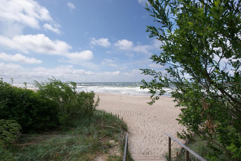 Jūra ir smėlio paplūdimiai - už 250 metrų