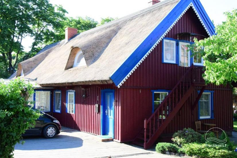 Cosy apartments for rent in an old fisherman's house in Nida - 6