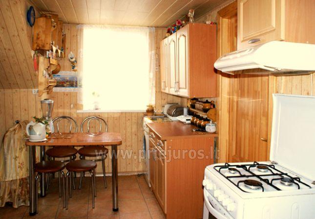 Išnuomojamas jaukus 2 kambarių butas Nidoje ant Kuršių marių kranto - 6