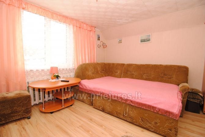 Išnuomojamas jaukus 2 kambarių butas Nidoje ant Kuršių marių kranto - 5