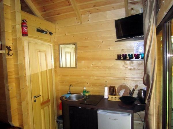 Angleras.lt. Zimmer im Ferienhutte in Sventoji - 15