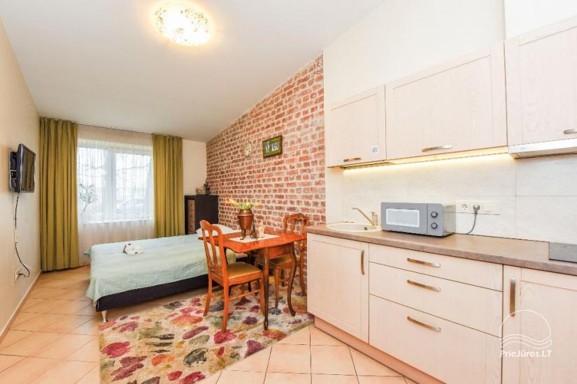 Vieno kambario apartamentai
