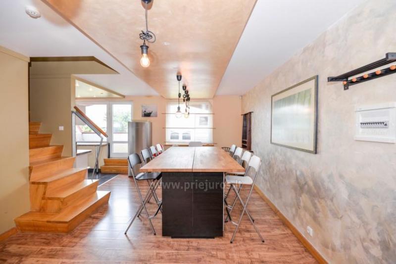 Wohnung in Nida für 8-10 Pers. mit Kamin, Balkon