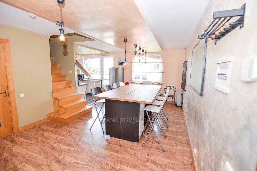 Wohnung in Nida für 8-10 Pers. mit Kamin, Balkon - 2