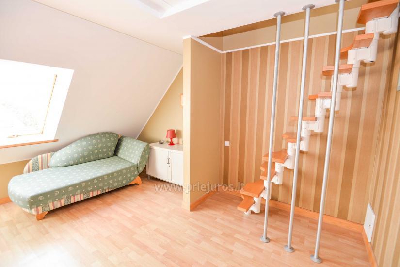 Wohnung in Nida für 8-10 Pers. mit Kamin, Balkon - 3