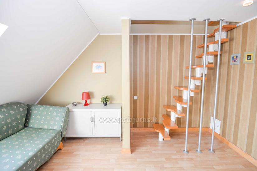 Apartamentai Nidoje iki 10 asmenų su židiniu, balkonu - 4