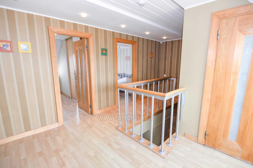 Wohnung in Nida für 8-10 Pers. mit Kamin, Balkon - 5