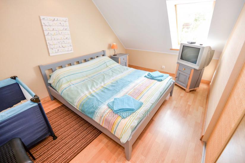 Wohnung in Nida für 8-10 Pers. mit Kamin, Balkon - 6
