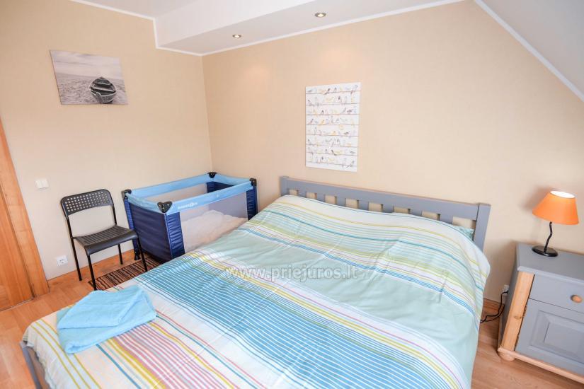 Wohnung in Nida für 8-10 Pers. mit Kamin, Balkon - 7