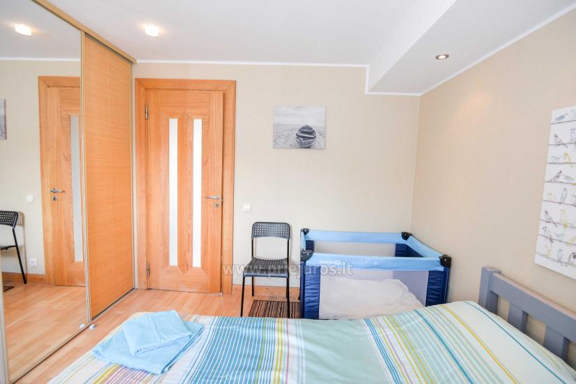 Wohnung in Nida für 8-10 Pers. mit Kamin, Balkon - 8