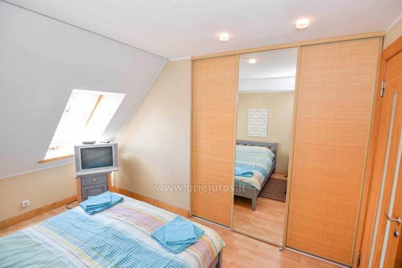 Wohnung in Nida für 8-10 Pers. mit Kamin, Balkon - 9