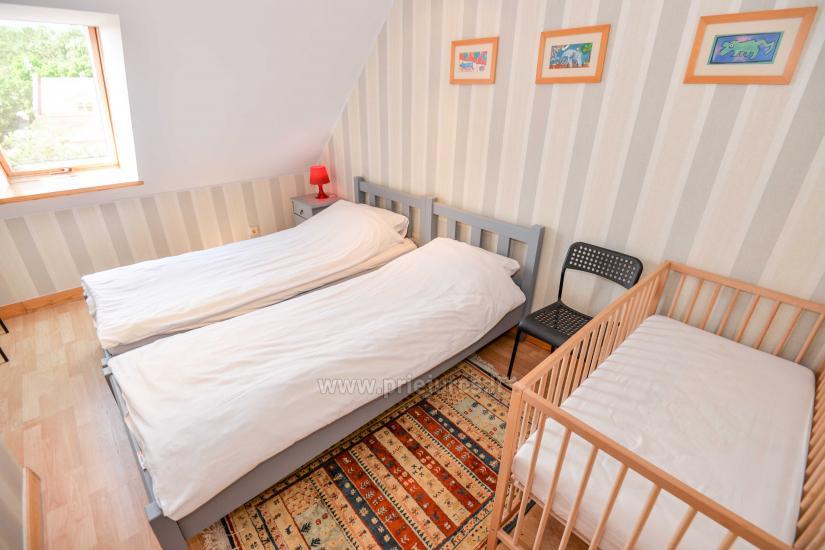 Wohnung in Nida für 8-10 Pers. mit Kamin, Balkon - 10