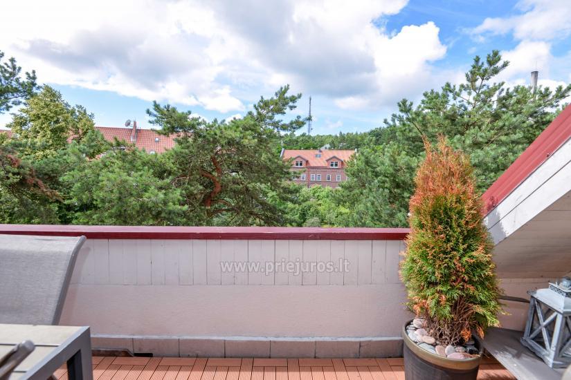 Dzīvoklis Nidā 8-10 pers. ar kamīnu, balkons - 22