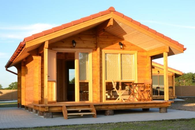 Ferienhäuser zu vermieten -im Kunigiškiai Resort Vaivorykštės 11 - 1