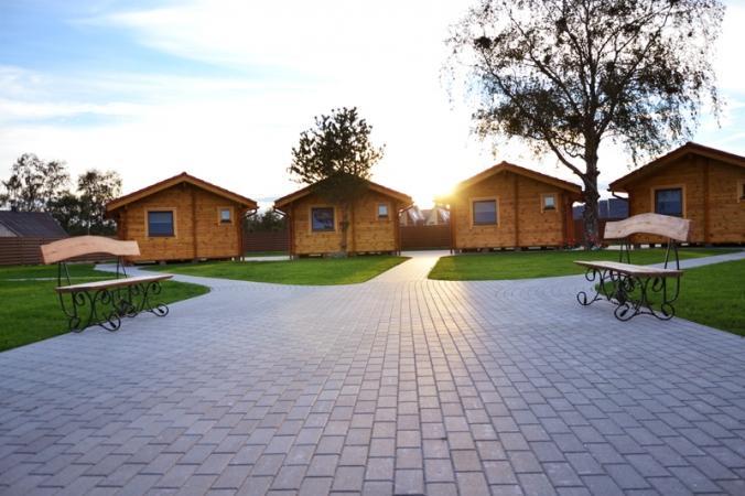 Ferienhäuser zu vermieten -im Kunigiškiai Resort Vaivorykštės 11 - 17