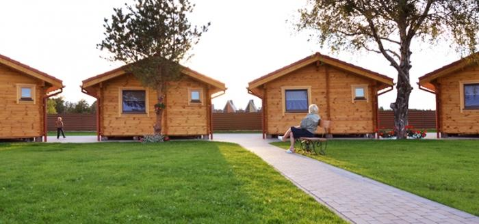 Ferienhäuser zu vermieten -im Kunigiškiai Resort Vaivorykštės 11 - 16
