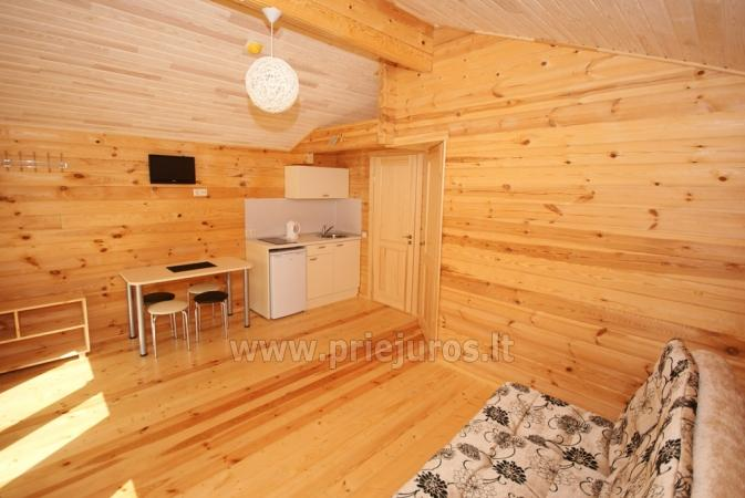 Holiday cottages for rent in Palanga in resort Vaivorykstes 11 - 10