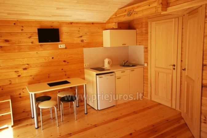 Holiday cottages for rent in Palanga in resort Vaivorykstes 11 - 11