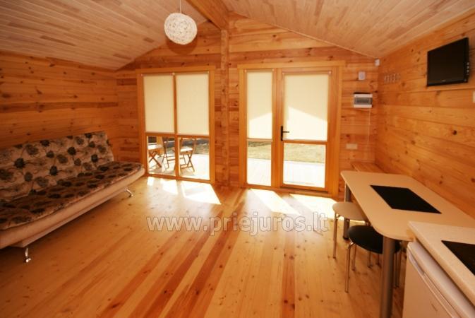 Ferienhäuser zu vermieten -im Kunigiškiai Resort Vaivorykštės 11 - 12