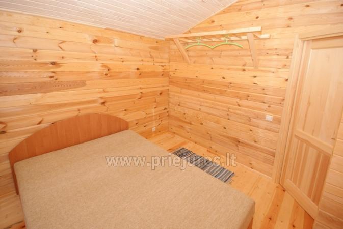 Ferienhäuser zu vermieten -im Kunigiškiai Resort Vaivorykštės 11 - 14