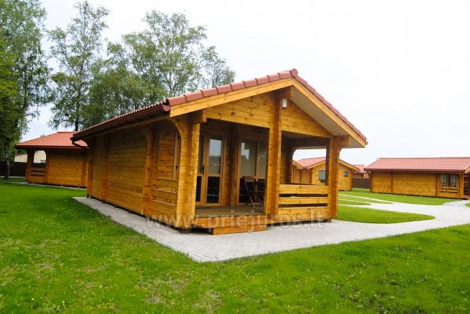 Ferienhäuser zu vermieten -im Kunigiškiai Resort Vaivorykštės 11 - 19