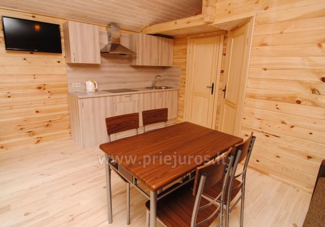 Ferienhäuser zu vermieten -im Kunigiškiai Resort Vaivorykštės 11 - 20