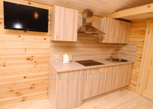 Ferienhäuser zu vermieten -im Kunigiškiai Resort Vaivorykštės 11 - 21
