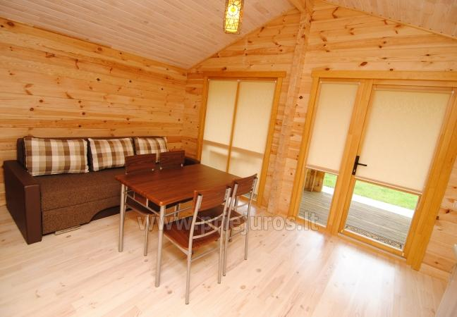 Ferienhäuser zu vermieten -im Kunigiškiai Resort Vaivorykštės 11 - 22