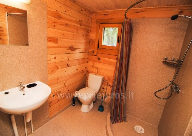 Ferienhäuser zu vermieten -im Kunigiškiai Resort Vaivorykštės 11 - 24