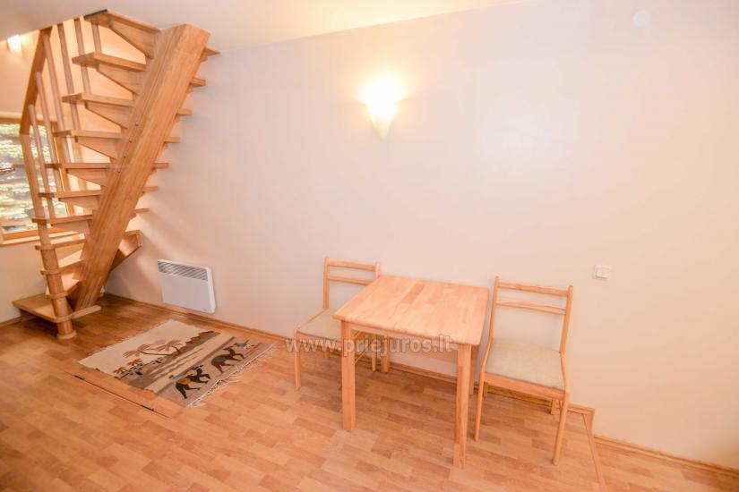 Kotedžo nuoma Nidoje su balkonu, židiniu, Wi-Fi, parkavimo vieta (4asm.) - 11