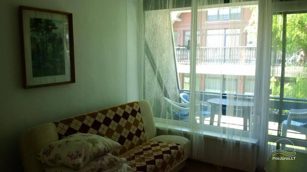 Dviejų kambarių poilsio būstas Preiloje. Abu kambariai - su balkonais! - 5