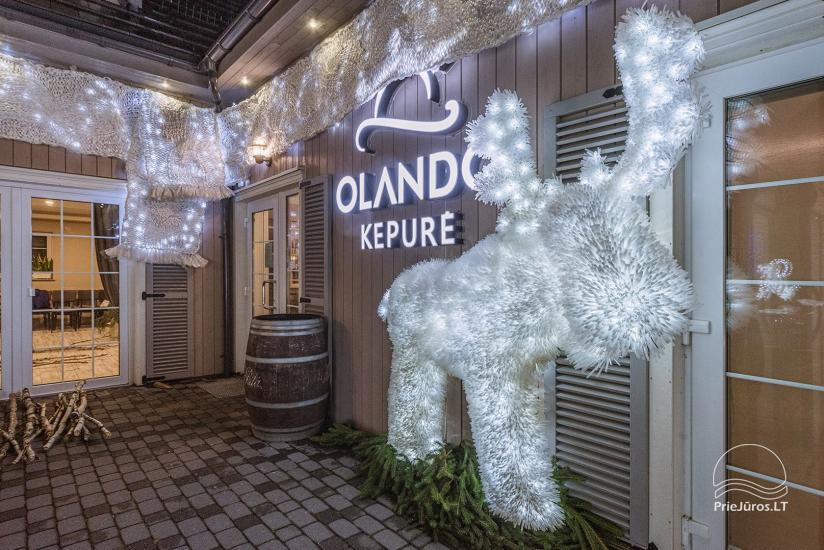 Guest house, cafe, holiday cottages and camping Olando kepure in Karkle near Klaipeda - 23