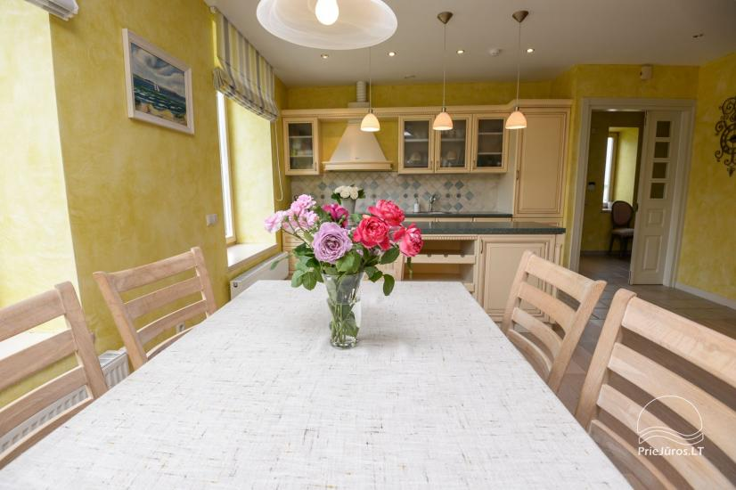 Villa Ponto for holiday in Palanga. Spacious rooms, private yard, close to the beach - 8
