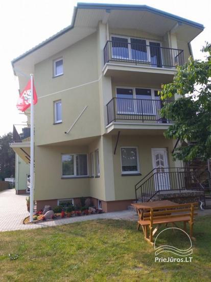 Zimmer und Ferienhäuser zu mieten. Großer Hof, Gartenhaus, Schaukeln - 2
