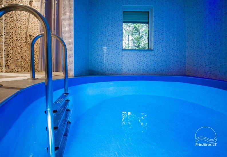 Lauku sēta ar saunu, baseinu, banketu zāle - 26