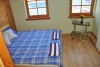 4 kambarių apartamentai per 2 aukštus su vaizdu į marias (iki 10 asmenų), pavėsine kieme - 8