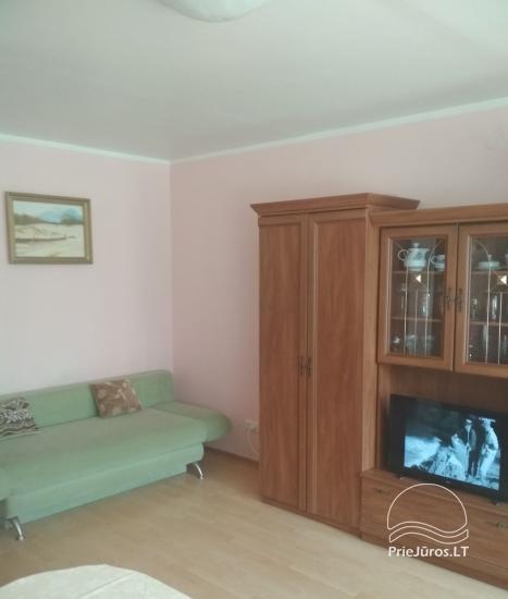 Atskiras vieno kambario butas su balkonu daugiabutyje Palangoje, netoli jūros - 6