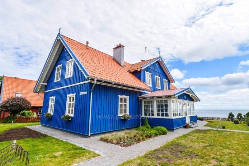 Mėlyna Vila - apartamentai Nidoje ant marių kranto