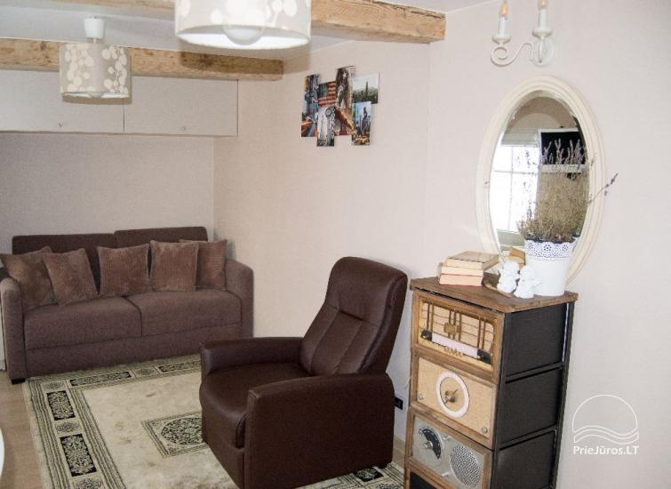 Vieno kambario butas su vaizdu į marias Nidoje etnografiniame žvejo name - 7