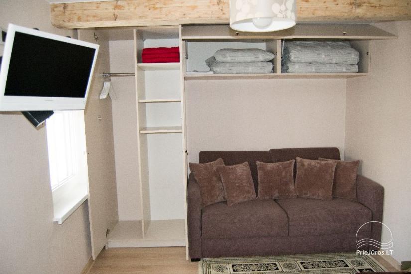Vieno kambario butas su vaizdu į marias Nidoje etnografiniame žvejo name - 8