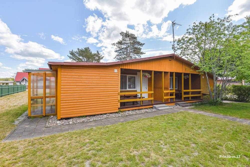 Rooms and holiday chalets for rent in Sventoji at the Baltic sea - 1
