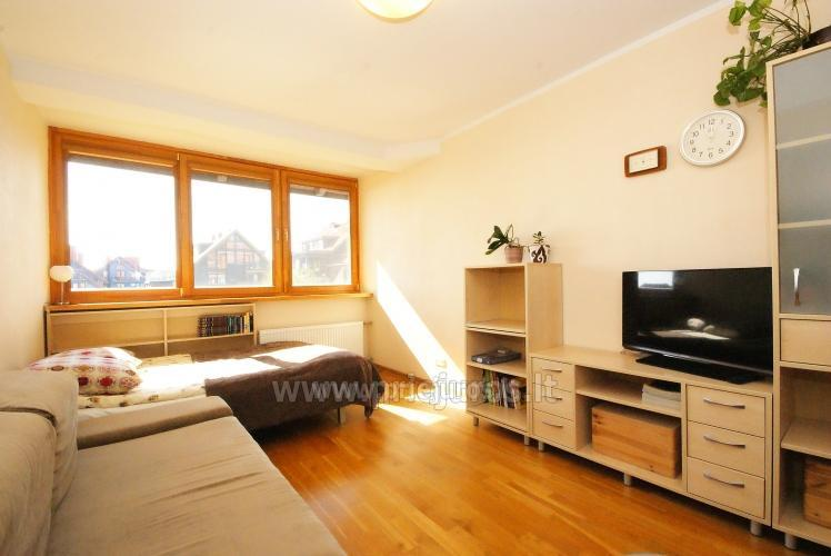 One and two bedroom apartments for rent in Nida - 1